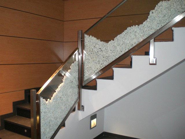 Barandillas tubytank grup sll - Barandillas de cristal y madera ...